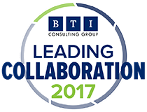 Badge: Goulston & Storrs Named 2017 BTI Leading Collaboration Firm