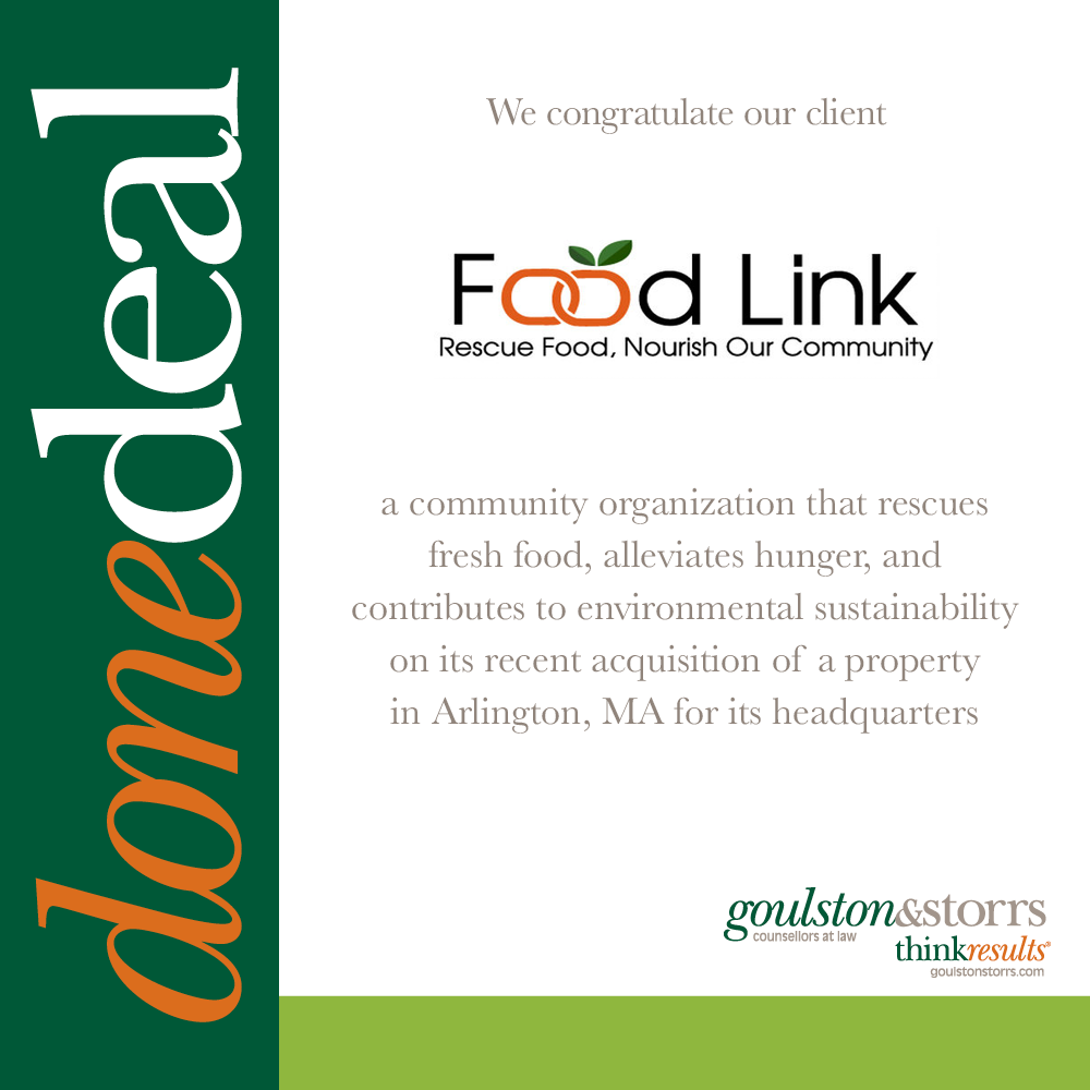 Food Link Done Deal