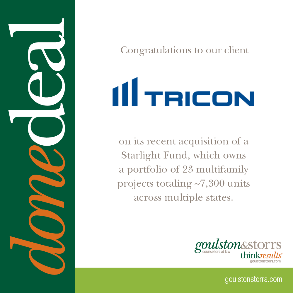 TriCon Done Deal