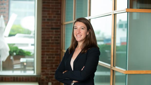 Litigation attorney, Sarah Eberspacher